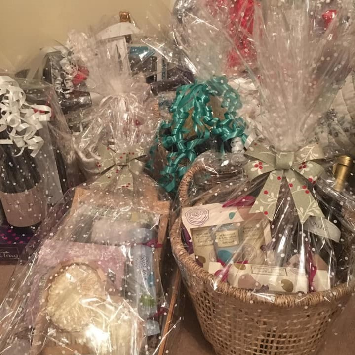 Organising raffle prizes